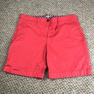 SOLD Boden Coral Shorts Size 14